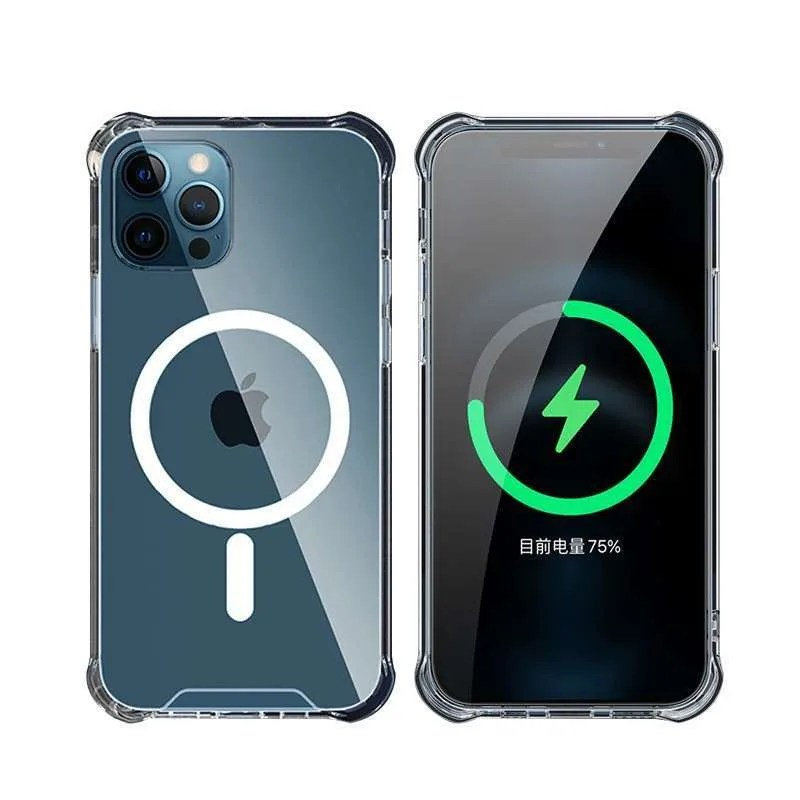 Otterbox symmetry series case, protection & wireless charging bundle for iphone 12 pro max. Jual Casing Iphone Magsafe 12 Pro Max Mini Apple Case Magnetic Wireless Charging Terbaru Oktober 2021 Harga Murah Kualitas Terjamin Blibli