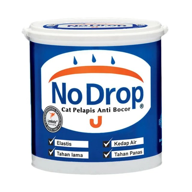 Jual No Drop 010 Cat Pelapis Anti Bocor - Abu-abu Muda [4 Kg] Terbaru Juni  2021 | Blibli