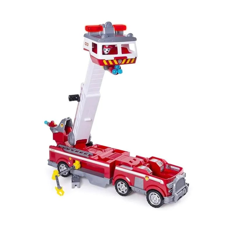 Jual Paw Patrol Ultimate Rescue Fire Truck W Marshall Action Figure Online Oktober 2020 Blibli Com