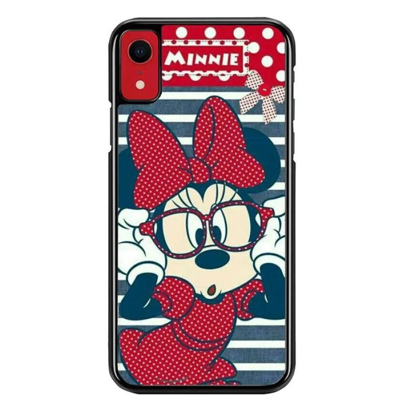 Jual Custom Hardcase Casing Iphone Xr Minnie Mouse J0187 Online September 2020 Blibli Com