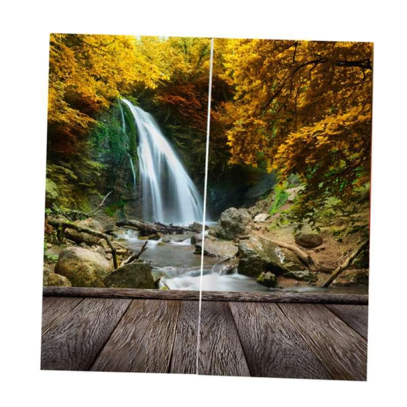 Jual 2 Panel 3d Photo Print Window Curtain Kids Room Nature Scenery Picture Decor Online September 2020 Blibli Com