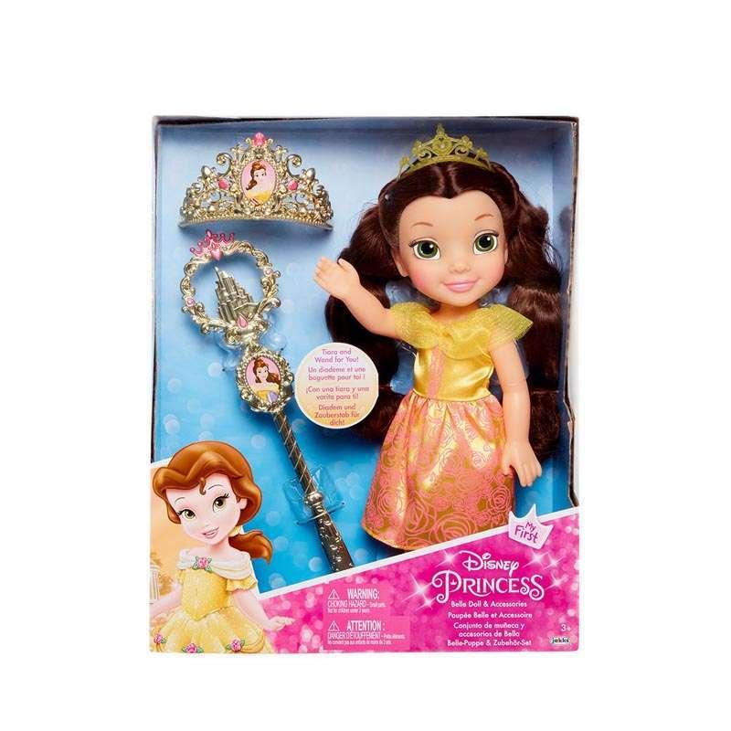 Jual Jakks Jak20073 Disney Princess Belle Doll Acc Set Online September 2020 Blibli Com