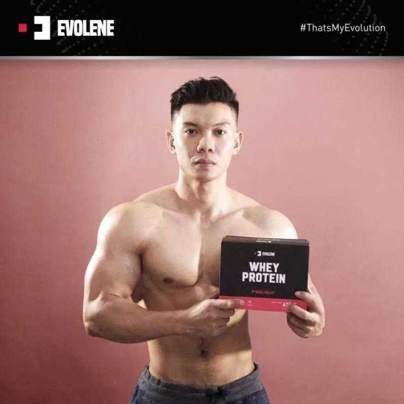 Jual Evolene Suplemen Susu Fitness Whey Protein 228 Gram 6 Sachet Online Oktober 2020 Blibli Com