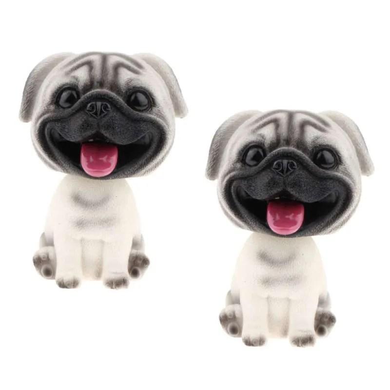 Jual Bobblehead Pug Puppy Dog Life Like Figurine Car Bobbing Online Oktober 2020 Blibli Com
