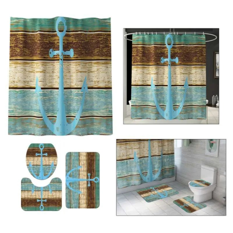 complete bathroom set shower curtain with rug contour mat toilet lid cover