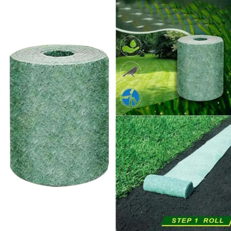 Jual 3x Biodegradable Grass Seed Mat Shade Garden Lawn Erosion Control Blanket Online September 2020 Blibli Com