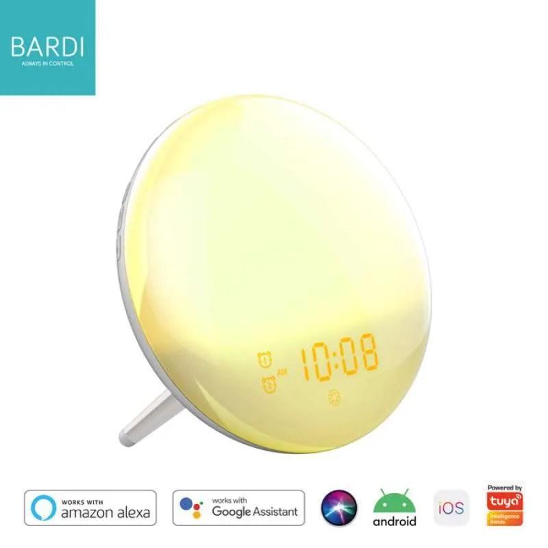 Jual Bardi Wifi Smart Wake Up Light Workday Alarm Clock Sunrisesunset Radio Online Oktober 2020 Blibli Com