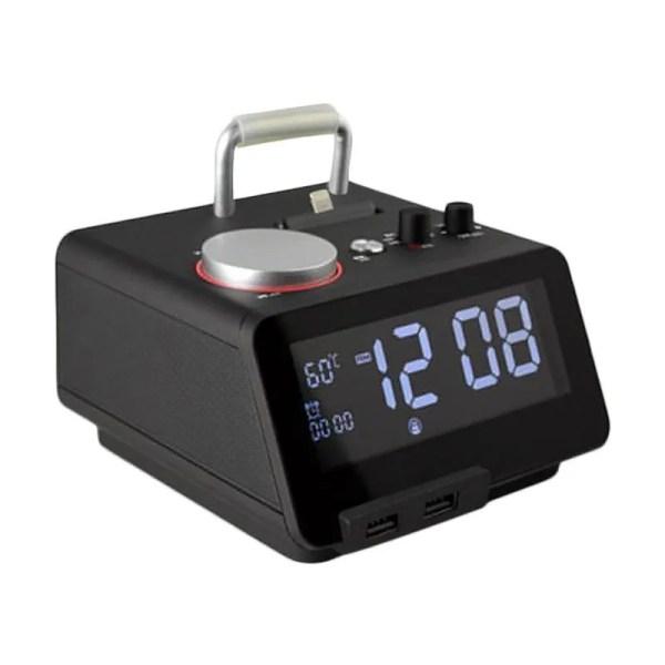 Jual Homtime C12Pro Docking Station Speaker with Alarm ...