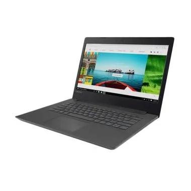 Laptop Lenovo IdeaPad 320-0RID Note ... DVDRW/14 Inch/ DOS] Hitam