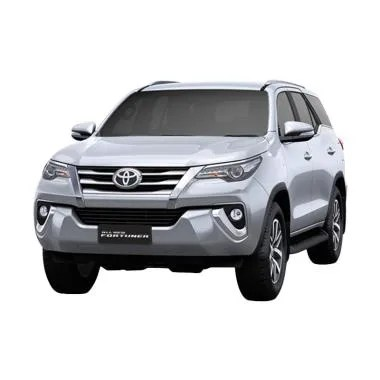 Toyota New Fortuner 4x2 2.4 G DSL LUX Mobil - Silver Metallic