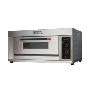 Getra RFL-12SS Gas Baking Oven - Silver