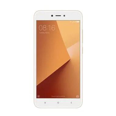 Xiaomi Redmi Note 5A Smartphone - Gold [16 GB/ 2 GB/Resmi TAM]