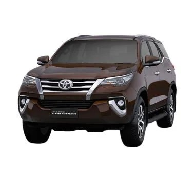 Toyota New Fortuner 4x4 2.4 G DSL LUX Mobil - Phantom Brown Metallic