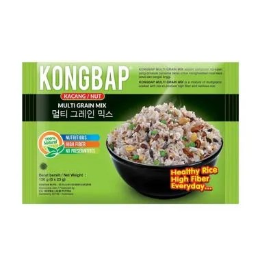 KONGBAP Nut Multi Grain Mix [18 pcs / 25 g]