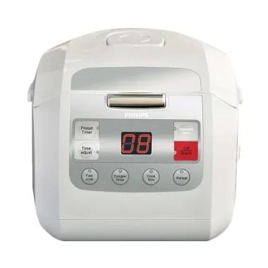 PHILIPS HD 3030 Fuzzy Logic Rice Cooker Digital  [1 L]