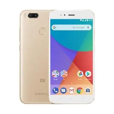 Xiaomi Mi A1 Smartphone - Gold [64GB/4GB] Garansi resmi
