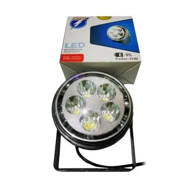 RTD E05 Lampu Tembak LED with Angel Eyes for Car or Motor