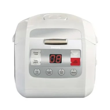 Philips HD3030 Rice Cooker Digital - Putih [1 Liter]