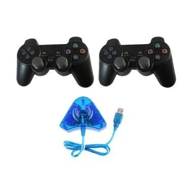 Sony 2 Stik PS2 with Converter Usb
