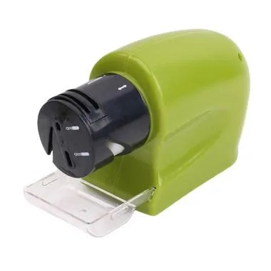 DQueeny Pengasah Pisau Multifungsi Swifty Sharp Electric Sharpener