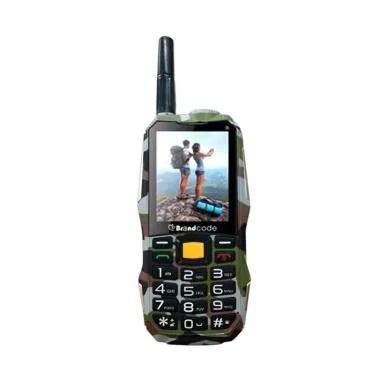 Brandcode B81 ARMY Handphone - Cokelat [Dual SIM/10000 mAh]