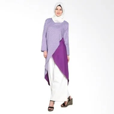 Chick Shop Cross CO-53-04-U Dress Moslem - Purple