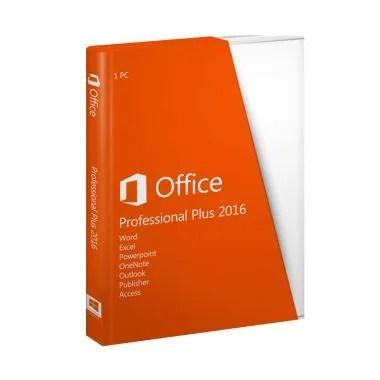 Microsoft Office Professional Plus 2016 Software Original RETAIL
