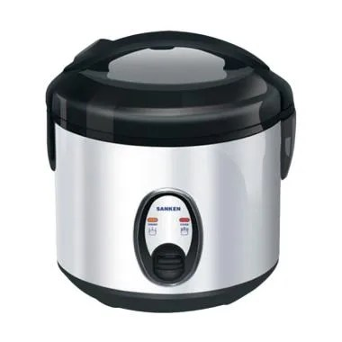 Sanken SJ130SP Rice Cooker - Silver Hitam