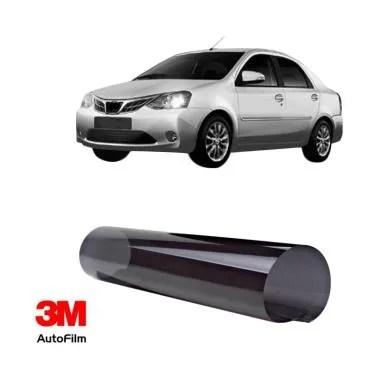 3M Auto Film Paket Eco Black Kaca Film Mobil for Toyota Etios