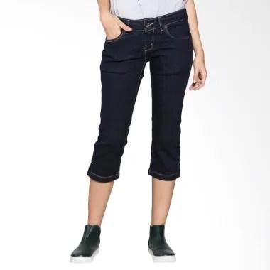 Lois Girl Short Pants Denim FDC 174 ... ta - Black Garment Bottom