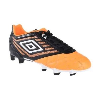 Umbro Medusae Club Sepatu Sepakbola - Orange Black HG 81098U-EPY
