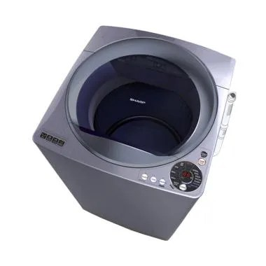 Sharp Megamouth Series ES-M1108T-SA Mesin Cuci Top Loading [11 kg]