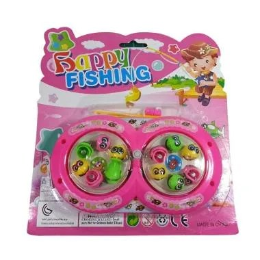 Toys Empire set 378 Fishing Game Mainan Pancingan - Pink