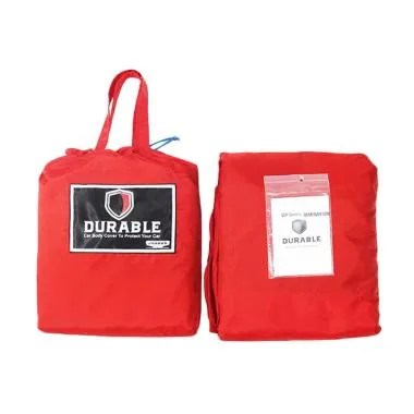 Durable Premium WP Body Cover Mobil ... harade Winner - Red Black