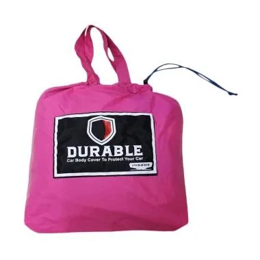 DURABLE Premium WP Body Cover Mobil for Mitsubishi Pajero Sport - Pink