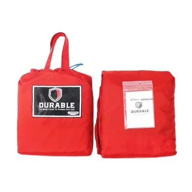 DURABLE Premium WP Body Cover Mobil ...  Double Cabin - Red Black