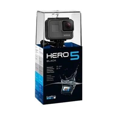 GoPro HERO5 Action Camera - Black + Paket 1 Battery + 1 Charger