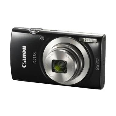Canon Ixus 185 Kamera Pocket - Hitam