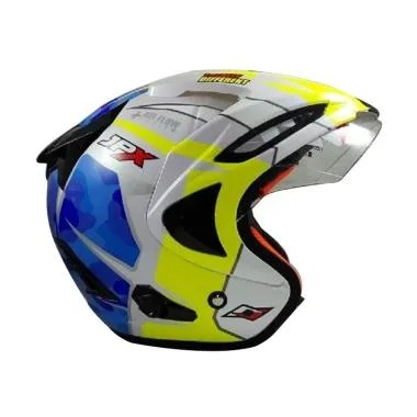 JPX Supreme 41 Helm Half Face - Pearl White