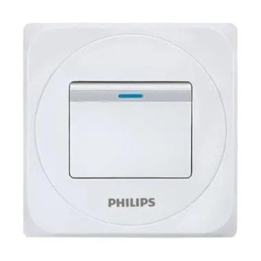 PHILIPS Simply 1 Gang 1 Way Switch Saklar Hotel