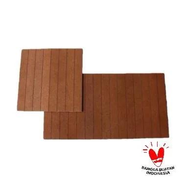 Abang Borneo Wood Cork Set Taplak Meja