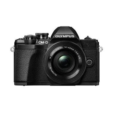 Olympus OM-D E-M10 Mark III kit 14-42mm EZ Kamera Mirrorless - Black