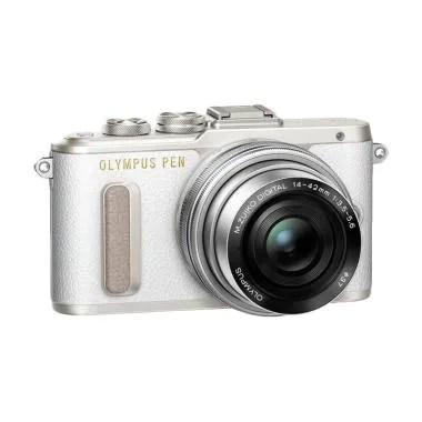 Olympus E-PL8 14-42mm EZ Kamera Mir ... leaning Kit & Memory Card