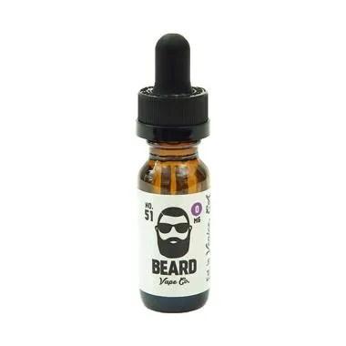 Beard 51 Premium Import E-Liquid [0 mg]