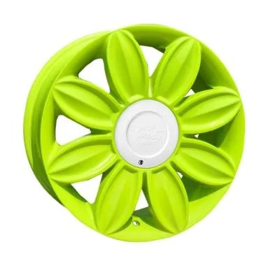 Tansy Daisy R16x7 8H 4x100 or 4x114.3 Velg Mobil - Green
