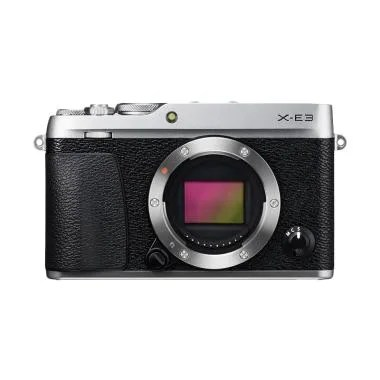 Fujifilm X-E3 Body Only Kamera Mirrorless - Silver