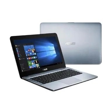 Asus X441NA Notebook-silver [14 Inc ... WS 10/DVDRW/VGA INTEL HD]