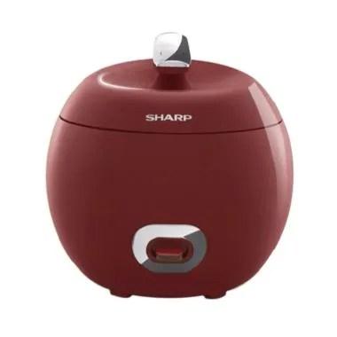 SHARP KSP18MY-RD Apple Rice Cooker - Red
