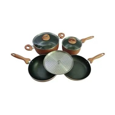 Supra Rosemary Ultimate Cookware Set - Copper [7 pcs]