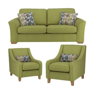 Malibu Everland 211 Seater Sofa - Green